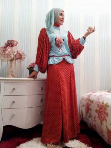 baju gamis muslim modern - Foto Gambar Baju Muslim