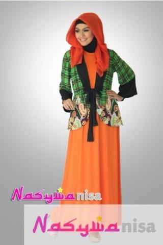 Model Baju Muslim Gamis Modern Untuk Remaja