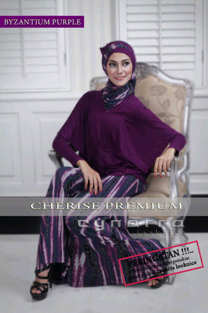 cherise byzantium purple