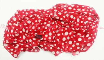 polka scraft merah