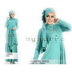 HIJABER DARK SEA GREEN
