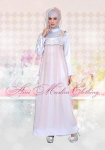 gaun muslimah elegan Pusat-Gamis-Terbaru-Aini-034-Khaki