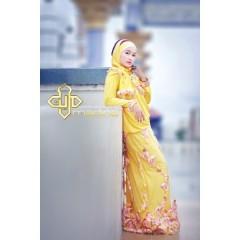 baju muslim fashion Pusat-Gamis-Terbaru-ameera-kuning-by-Madina