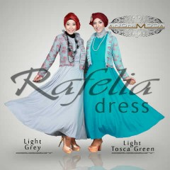 baru Anonimoda - Rafelia - light Grey + light green Tosca  1