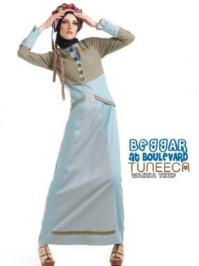 tuneeca 0413029 baju muslim gamis modern