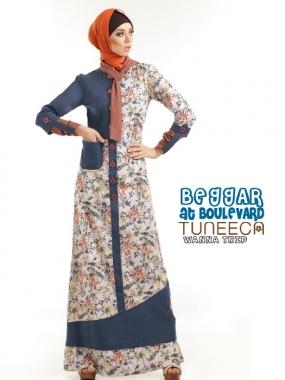 Tuneeca 0413033 | Baju Muslim GAMIS Modern
