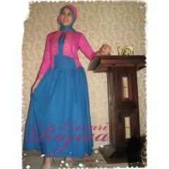 Q. sahara biru tosca-pink