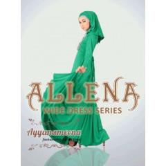 allena polos hijau ayyanamena, agen baju muslimah terkini 2013