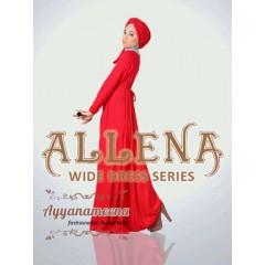 allena polos merah ayyanamena, baju muslimah modern