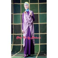 gamis trendy masa kini step up arlene, grosir baju muslim, suplier cynarra, suplier busana muslim