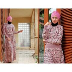 bloemen pink nayla collection, busana 2013, gaun muslimah trendy