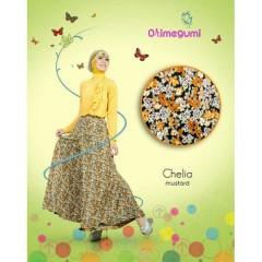 chelia mustard orimegumi, busana muslimah terkini, baju muslim remaja