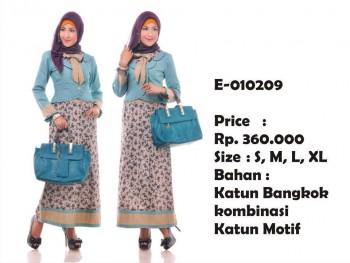 esme 209, pakaian muslimah wanita terkiini
