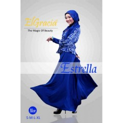 estrella biru agen baju muslimah, distributor busana muslim