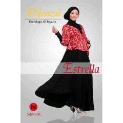 estrella merah busana muslimah elegan, baju muslimah terkini 2013