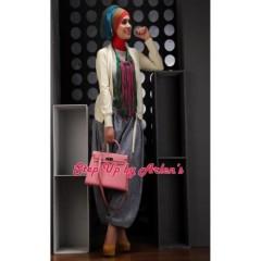 gwen cardi kuning baju hijabers terbaru