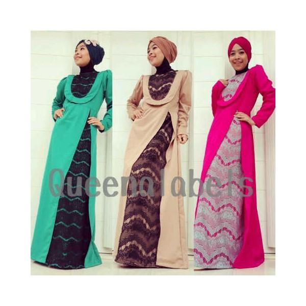 Q Delacy Coksu Baju Muslim Gamis Modern