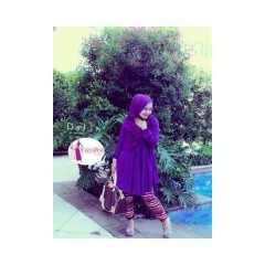 plam, pakaian muslimah hijabers d'azzahra polin tuniq palm