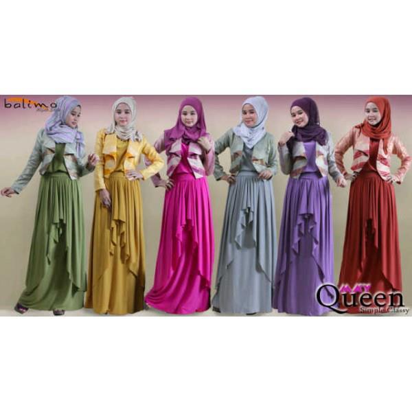 Balimo Queen Baju Muslim Gamis Modern