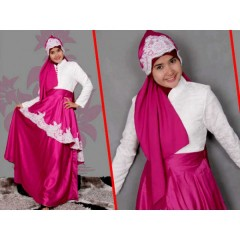 syalmadina princess fanta2, busana muslimah modern