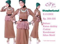 E-010502, busana muslimah online
