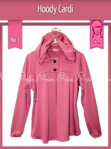 Hoody Tosca Dusty Pink