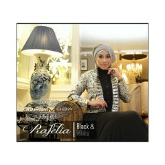 RAFELIA DRESS BLACK & WHITE