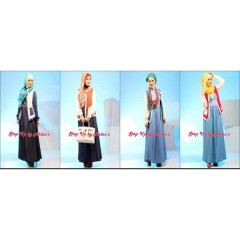 Busana HIjabers Step Up Candy