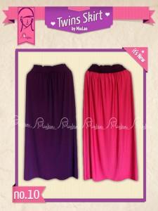 Twins Skirt MiuLan 10. Ungu - Fushia