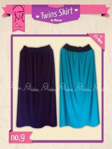Twins Skirt MiuLan 9. Tosca - Ungu
