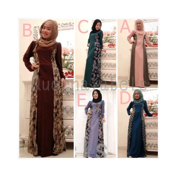 Queena Lenka 2 Baju Muslim Gamis Modern