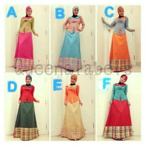 Queena New Adele Baju Muslim Gamis Modern