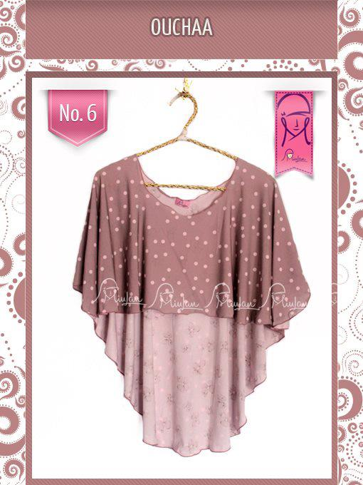 oucha 6 dusty pink