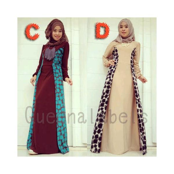 Queena Lenka C D Baju Muslim Gamis Modern