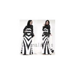 queena mottle, pusat busana muslim gamis wanita online  murah terkini