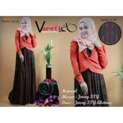 pakaian muslimah gamis terbaru