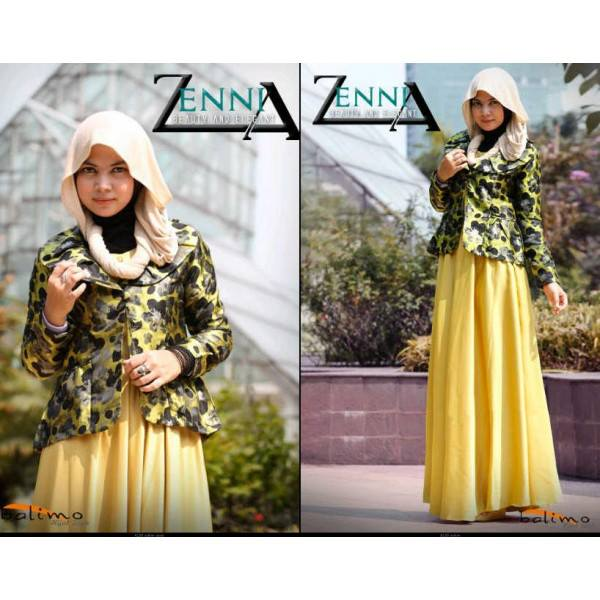 Balimo Zennia yellow