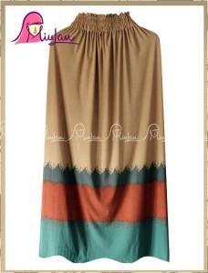 CANDY SKIRT MiuLan 2. Mocca