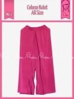 KULOT ALLSIZE Shoking pink