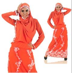 baju muslim dewasa terbaru  Pusat-Gamis-Terbaru-ameera-Orange-by-Madina