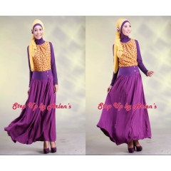gamis trendy NEW DAVINA yellow