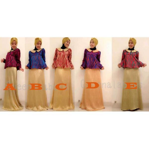 Queena Sharon Baju Muslim Gamis Modern