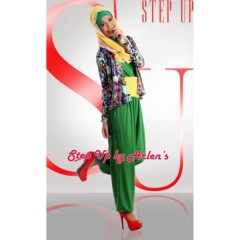 Step Up JUMPSUIT Hijau