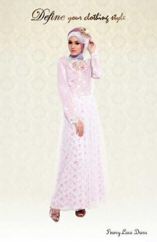 aini Peony Lace Dress