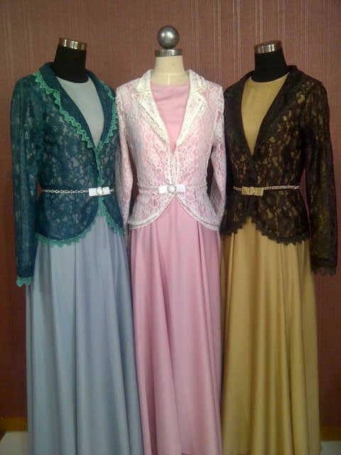 Baju Muslim Gamis Modern Jasmine