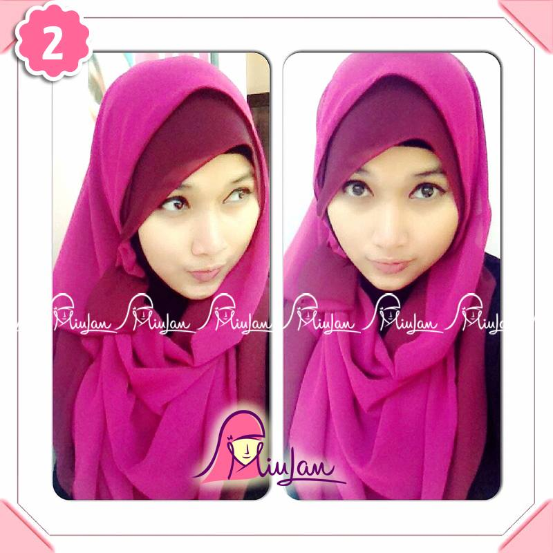 two tone scarf 2