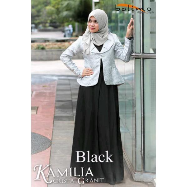 Balimo Kamilia Cristal Granit black