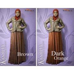 Balimo Kamilia Cristal Granit brown & dark orange