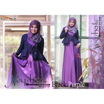 Neysha Black Purple