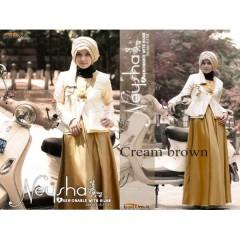 Neysha Cream Brown